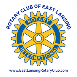 East Lansing Rotary Club logo