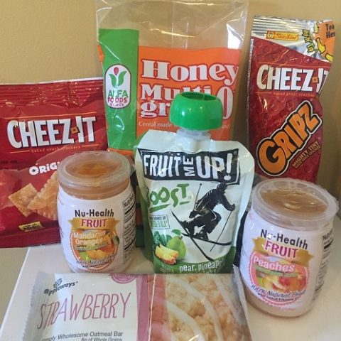 Examples of healthy snacks for the Weekday Survival Snack Program