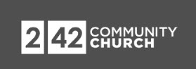 Logo of Weekend Survival Kits partner, 242 Community Church