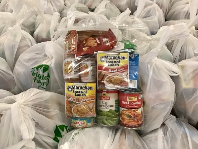 Volunteers Need Food Kit Prep and Moving