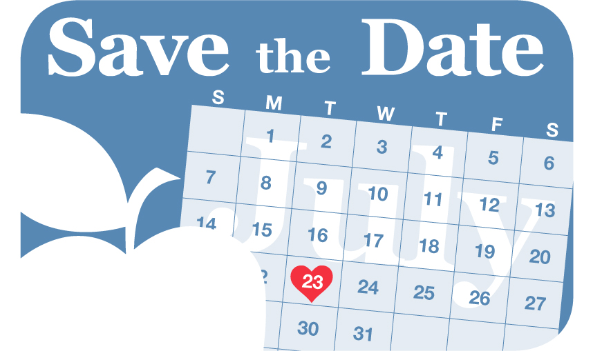 Calendar Save the Date for Experiencing Poverty Event on July 23rd