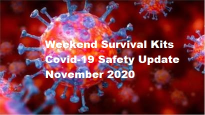 Image of Covid Virus for Weekend Survival Kits Safety Update