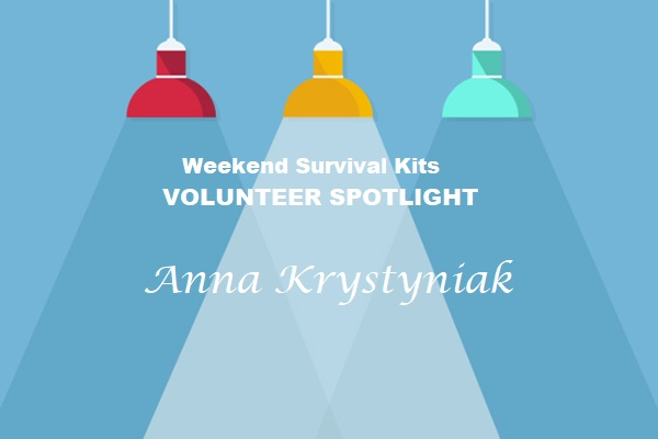 Art presentation of WSK Volunteer Spotlight